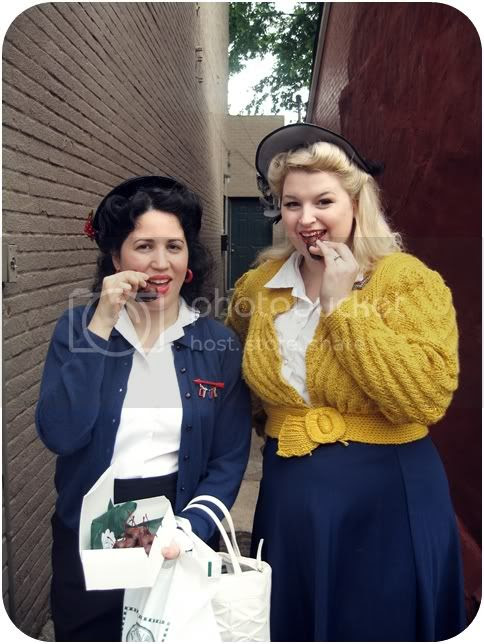 Daffny A Vintage Nerd and Brittany Va-Voom Vintage