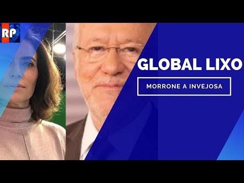 Giuliana Morrone chama Alexandre Garcia de ridículo