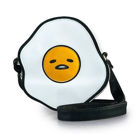 Gudetama Puffy Vegan Leather Crossbody Bag   ThinkGeek