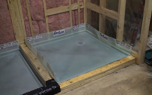 OneLiner Waterproof Shower Pan - Dix Systems Inc.