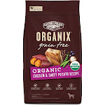 Castor & Pollux Organix Grain Free Organic Chicken and Sweet Potato Dry Dog Food, 4 lb