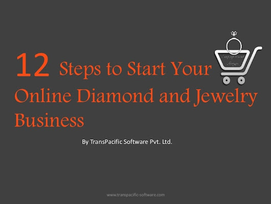 12 step guide to start online jewelry business