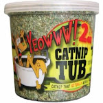 YEOWWW! Catnip Tub 2 ounce | Premium Flower Top Blend | For Cats and Kittens