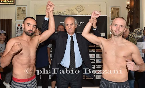 """Paulie """"Magic Man"""" Malignaggi (33-7, 7 KOs) weighed in earlier today for his fight against journeyman..."""