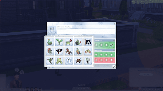 The Sims 4 Get Together Mod: More Club Icons - Sims Community