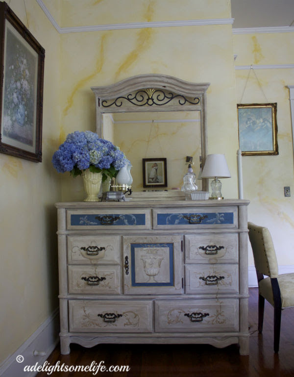 French Painted Dresser 11