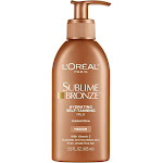 Loreal Sublime Bronze Self-Tanning, Hydrating, Medium, Milk - 5.5 fl oz