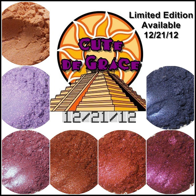 Darling Girl Cosmetics cute de grace eyeshadows