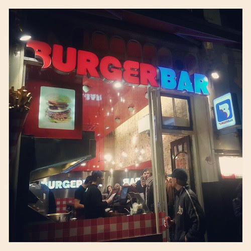 Delicious and 50 feet from our hotel. #Amsterdam #burgerbar