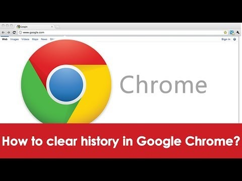 How to clear history in google chrome