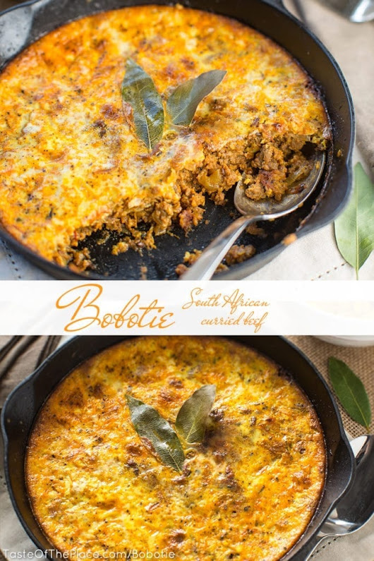 Bobotie - A Classic South African Recipe