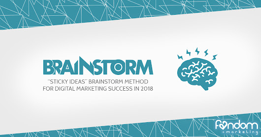 Sticky Ideas Brainstorm Method