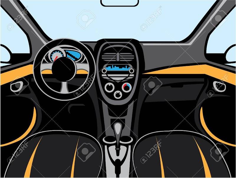 Car Interior Clipart