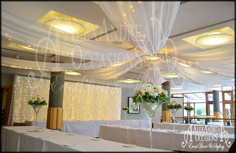 Wedding Event Ceiling Drapes   London, Hertfordshire