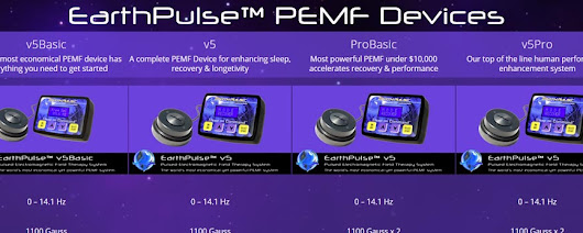 EarthPulse Pulsed Electromagnetic Field Therapy (PEMF) Systems