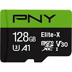PNY - Elite-X 128GB microSD Memory Card