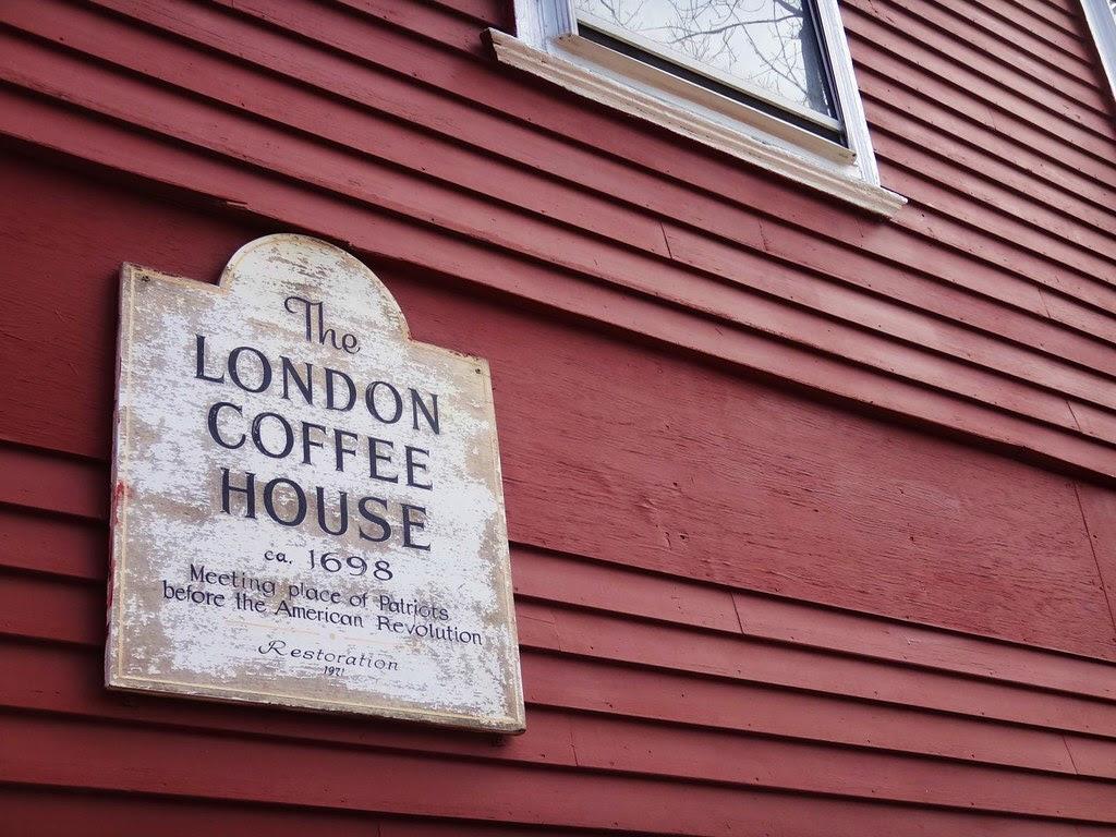 Red's Sandwich Shop Salem MA restaurant London Coffee House 1698
