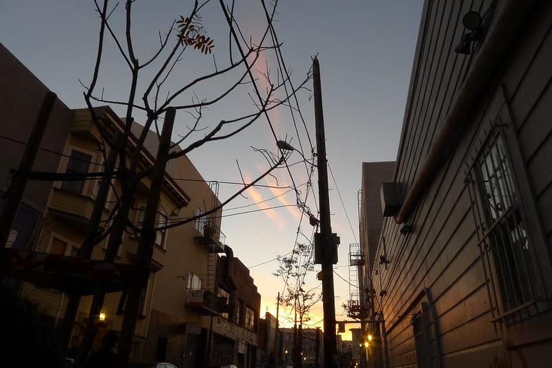 Linden sunset