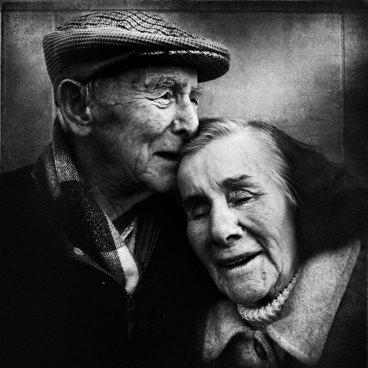 """They walked a long way together..."" by Lee Jeffries"