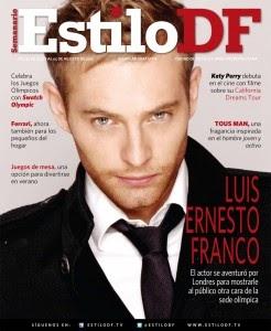 Telenovelas y Revista: Luis Ernesto Franco - Estilo DF magazin