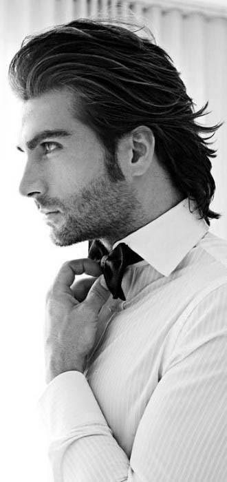 60 Medium Long Men's Hairstyles - Masculine Lengthy Cuts