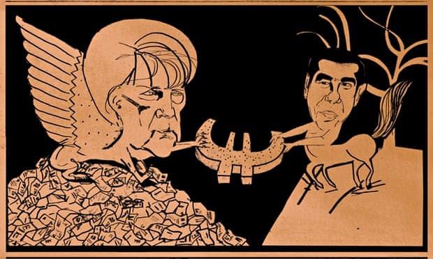 Eurozone tug o' war