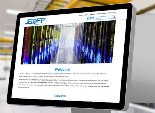 I.T. Start-Up Website for Jeoff-ITC - Pilo Campaner