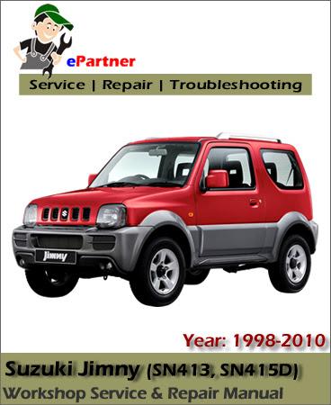 Suzuki Jimny Service Repair Manual 1998-2010   Automotive ...