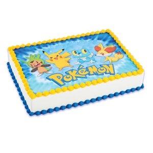 Pokemon Birthday Edible Cake Images   Birthday Wikii