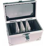 (10 Coins) - Aluminium Storage Box for 10 Universal Coin Slab Holders PCGS / NGC / Premier / Little Bear Elite Etc