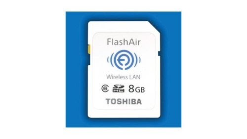 Toshiba's Wireless SD Goes Both Ways