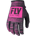 Fly Racing Kinetic Noiz Youth Gloves - Neon Pink/Black