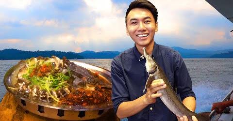 Ăn sập Đài Loan #11: Truy tìm cá tiền sử ở biển hồ Nhật Nguyệt |Du lịch ẩm thực