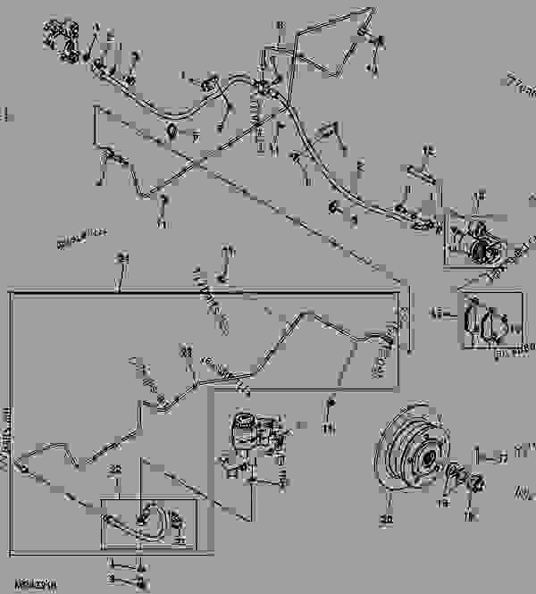 35 John Deere Gator 825i Parts Diagram