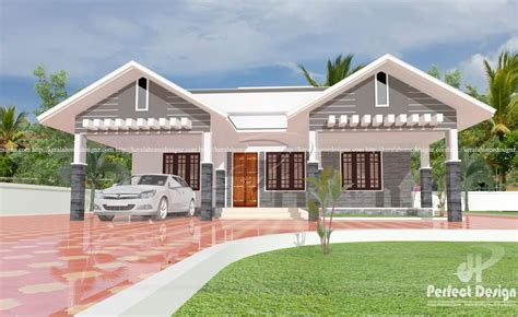 square feet modern single floor home design acha homes