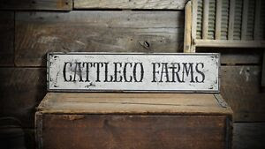Wooden Sign Farm  Made  Cattle Vintage rustic Custom signs farm  Hand Rustic Distressed