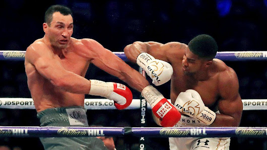 Anthony Joshua defeats Wladimir Klitschko by 11th-round TKO