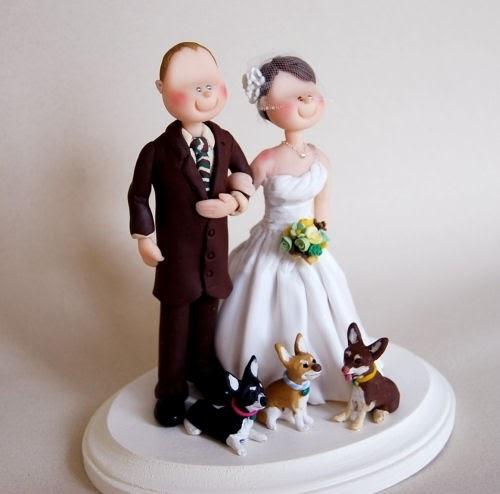 Wedding Cake Toppers Handmade Wedding Cake Toppers