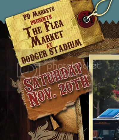 Dodger Stadium flea market