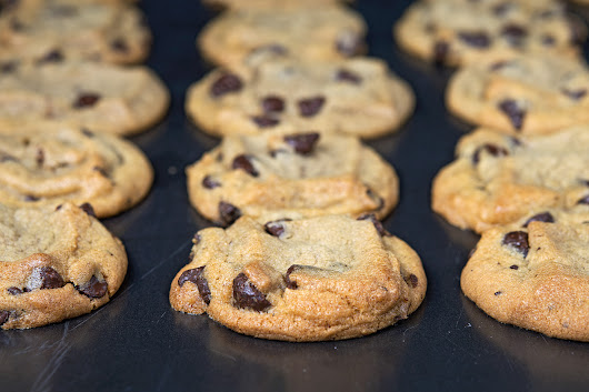 Best Ever Chocolate Chip Cookies - Gluten Free + Dairy Free + Egg Free - Pink Fortitude, LLC