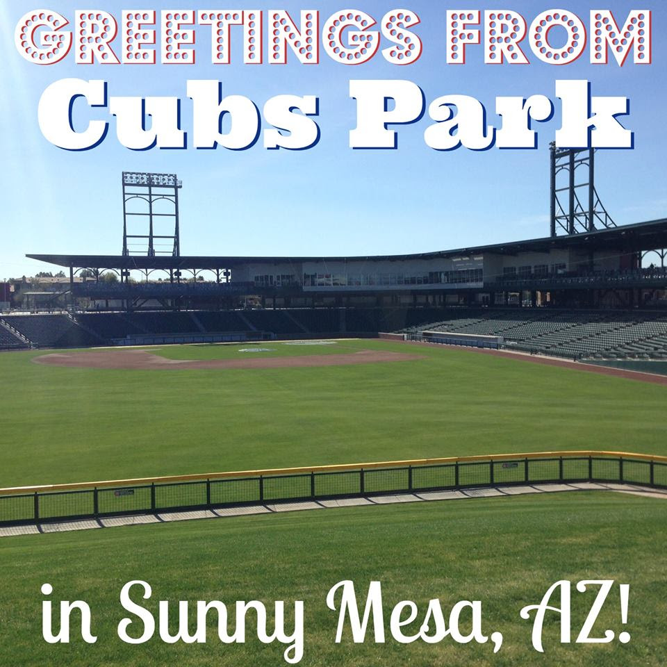 Cubs Park in Mesa