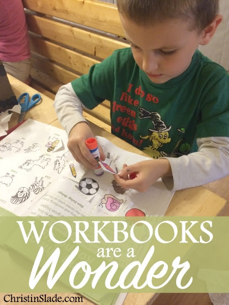 Workbooks Are a Wonder {Dover Publications Review}