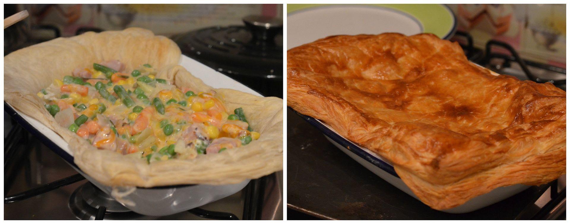 Ham & Vegetable Pie