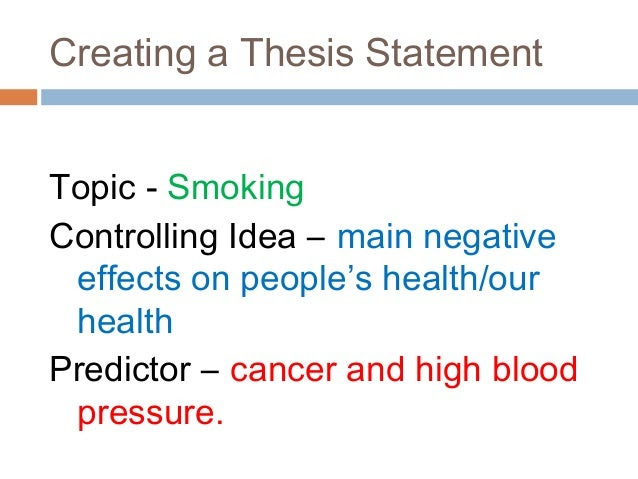 thesis statement generator for cause and effect essay