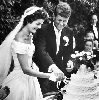 La boda de John Kennedy y Jacqueline Bouvier