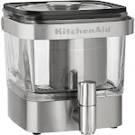 KitchenAid - 14-Cup Cold Brew Coffee Maker - Brushed Stainless Steel