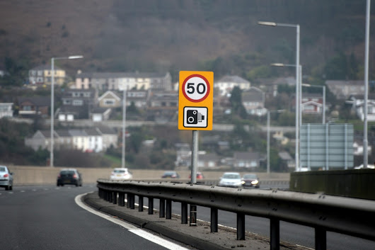 Speed limits on some UK motorways to be cut down to 50mph from TODAY in bid to reduce pollution levels