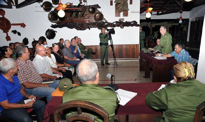 Raúl Castro Ruz, en Baracoa