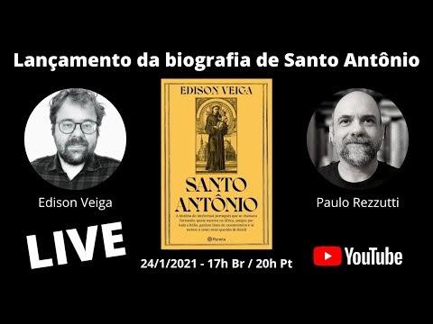 TAQUARITUBENSE É BIÓGRAFO DE SANTO ANTONIO