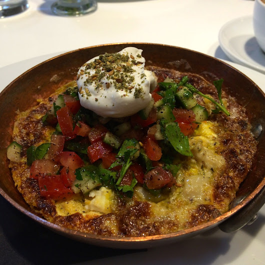 London: Brunching At Ottolenghi in Islington